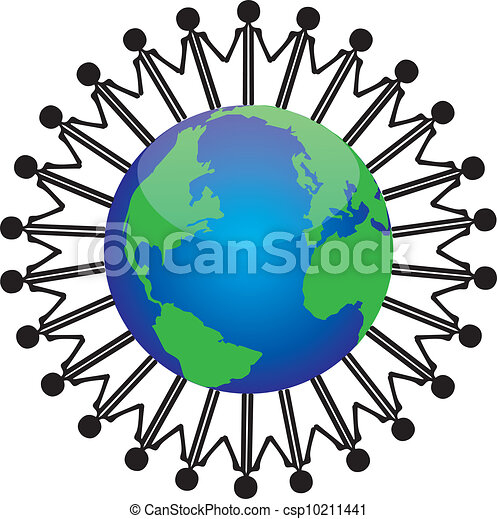 people control the world - csp10211441