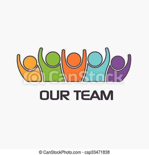 People Family logo - csp33471838
