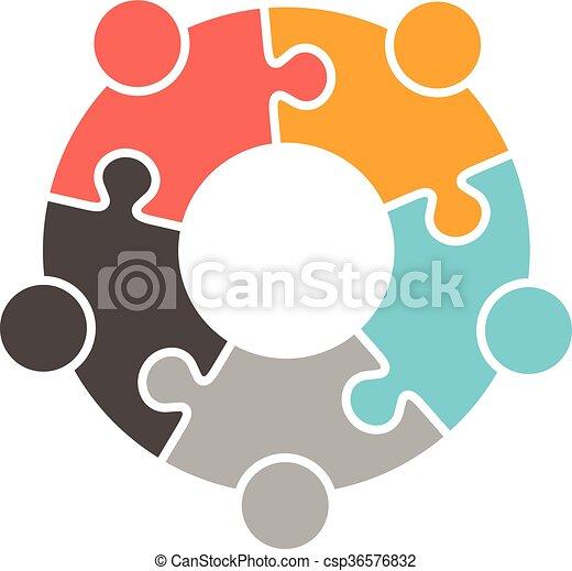 People Family logo - csp36576832
