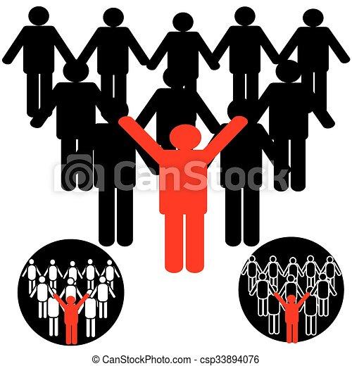 people icons - csp33894076