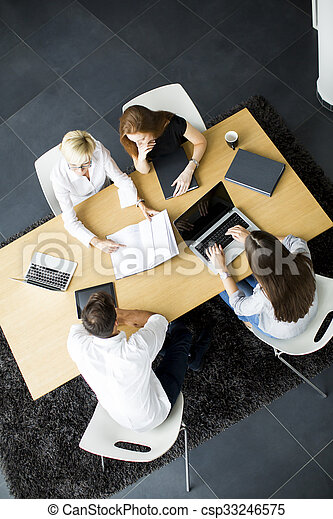 People in the office - csp33246575