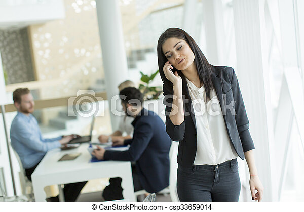 People in the office - csp33659014