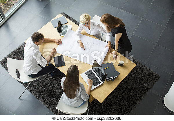People in the office - csp33282686