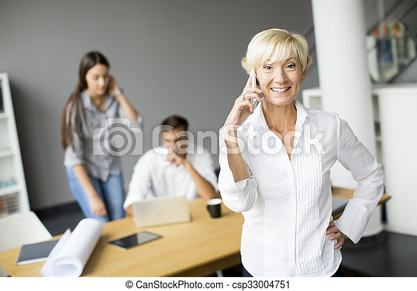 People in the office - csp33004751