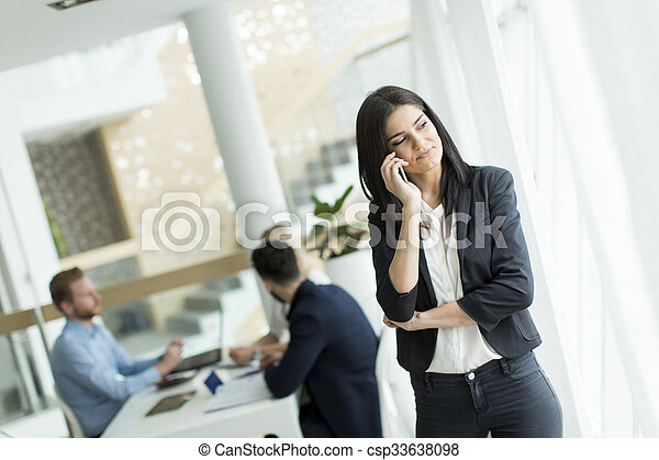 People in the office - csp33638098