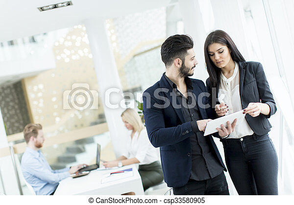 People in the office - csp33580905