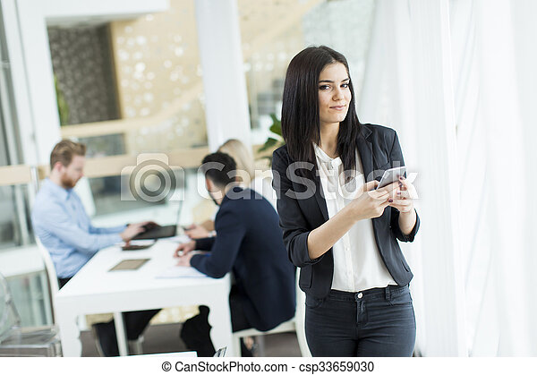 People in the office - csp33659030