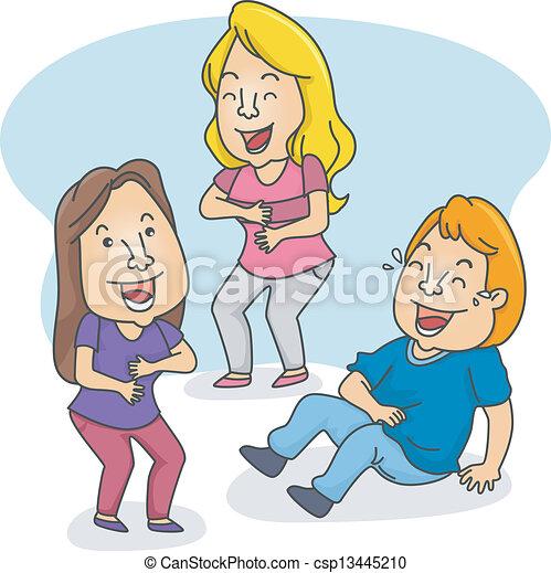 People Laughing - csp13445210