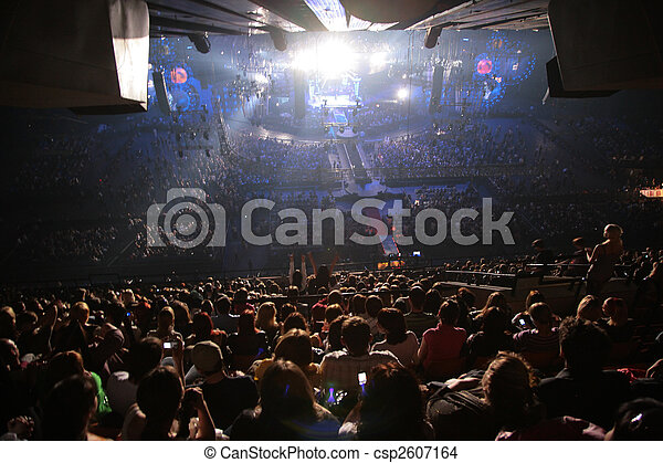people on concert - csp2607164