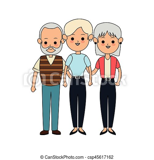 people or family members icon image vector illustration clip art rh canstockphoto co uk family members clipart family members clipart