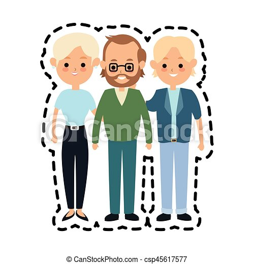 people or family members icon image vector illustration vectors rh canstockphoto com