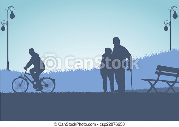 People silhouettes - csp22076650