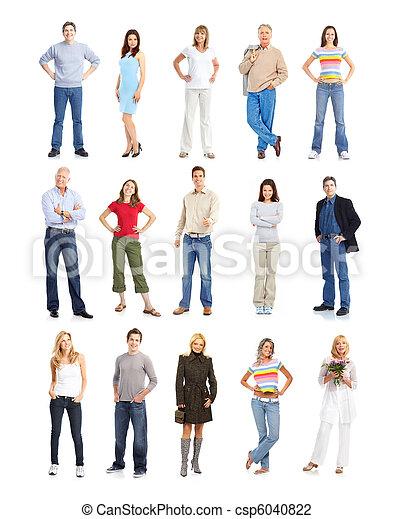 People - csp6040822