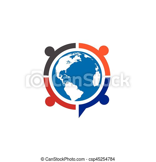 People unity logo - csp45254784