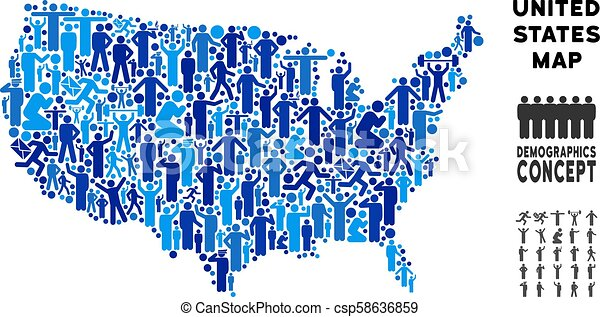 Demographics Map Usa on