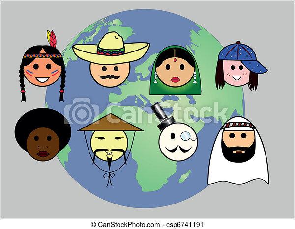 People worldwide - csp6741191