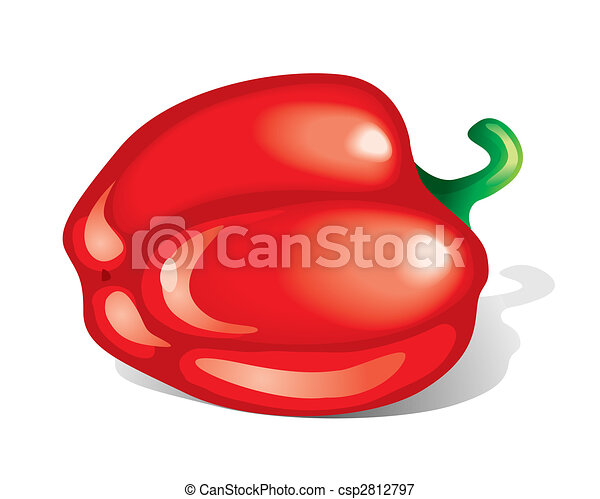 Pepper (vector) - csp2812797