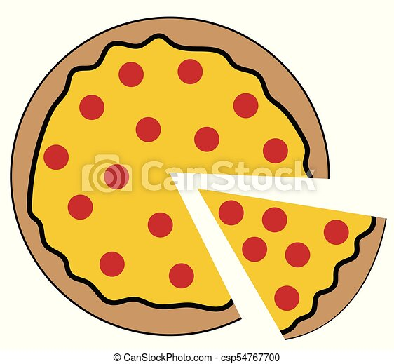 pepperoni pizza vector clipart search illustration drawings and rh canstockphoto ie pizza victoria bc pizza victor ny