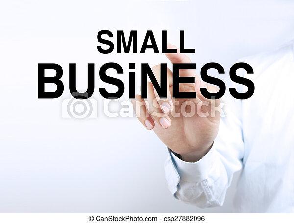 Un pequeño negocio - csp27882096