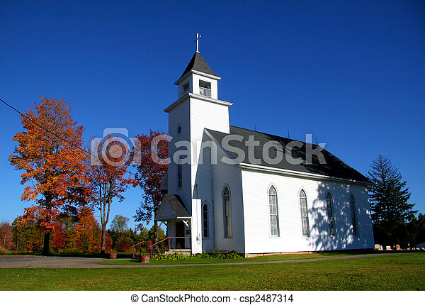 pequeño, iglesia - csp2487314