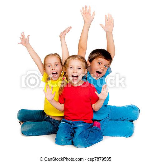 Niños pequeños - csp7879535