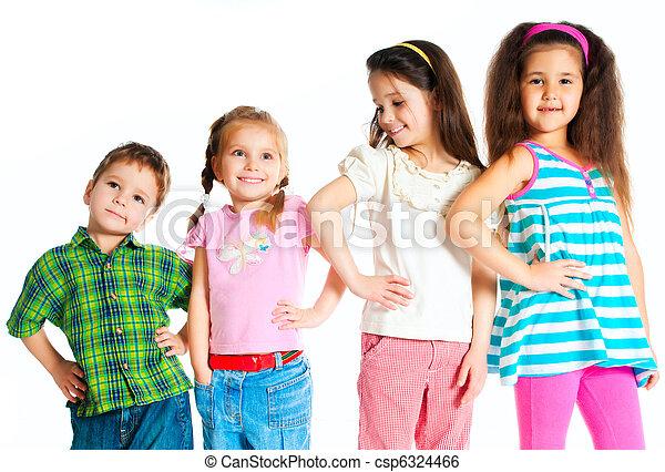pequeño, niños - csp6324466