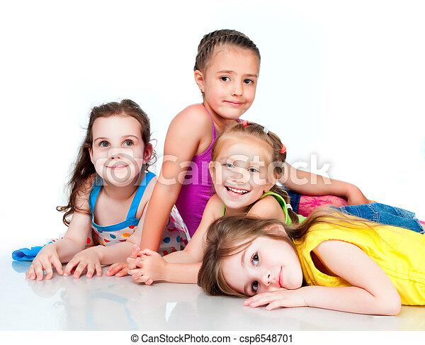 pequeño, niños - csp6548701