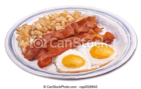pequeno almoço - csp0026843