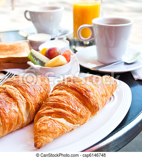 pequeno almoço - csp6146748