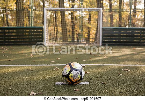pequeno, campo, futebol - csp51921607