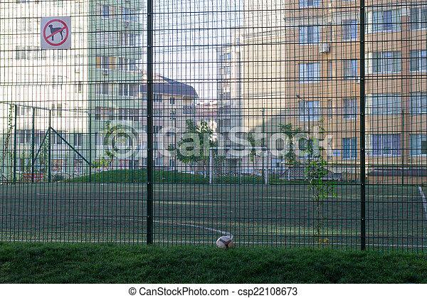 pequeno, campo, futebol - csp22108673