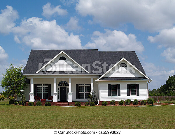 pequeno, residencial, lar - csp5993827