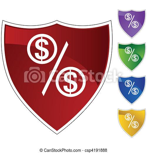 Percentage Rate - csp4191888