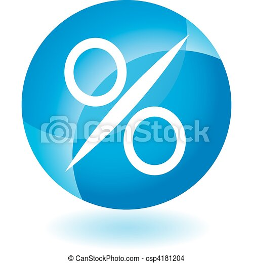 Percentage Sign - csp4181204