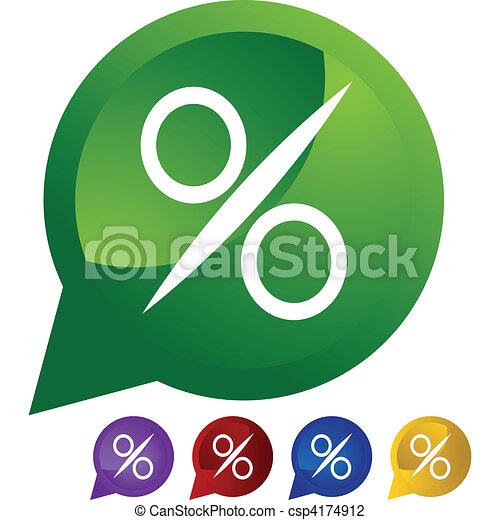Percentage Sign - csp4174912