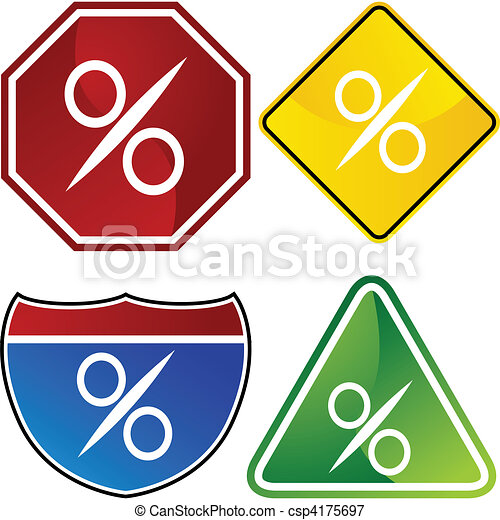 Percentage Sign - csp4175697