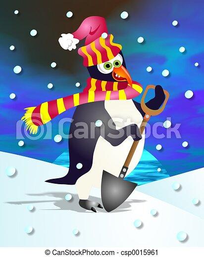 Percy Penguin - csp0015961