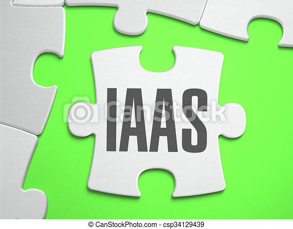 perdido, rompecabezas, rompecabezas, -, pieces., iaas - csp34129439