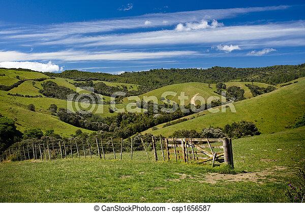 Perfect farmland - csp1656587