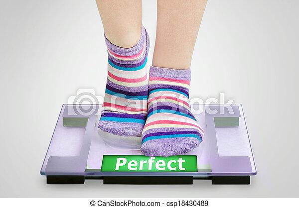 Perfect word - csp18430489