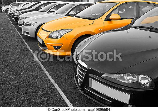 La selección de autos perfecta - csp19895584
