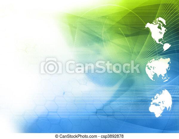 perfeitos, mapa, estilo, espaço, texto, imagem, -, fundo, mundo, tecnologia, ou - csp3892878