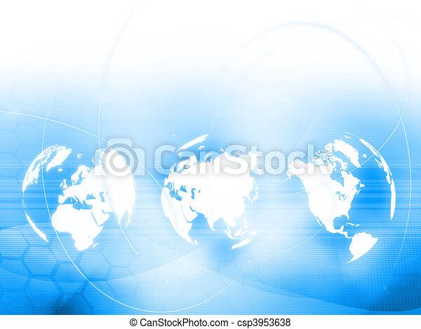 perfeitos, mapa, estilo, espaço, texto, imagem, -, fundo, mundo, tecnologia, ou - csp3953638
