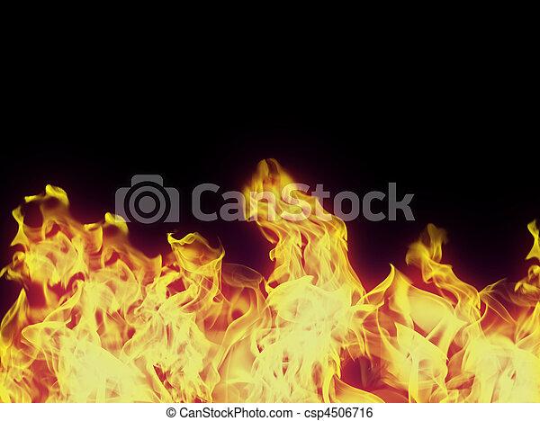perfetto, fondo, fuoco - csp4506716