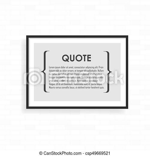 perfetto, grunge, projects., luce, cornice, wall., realistico, presentations., mattone, tuo - csp49669521