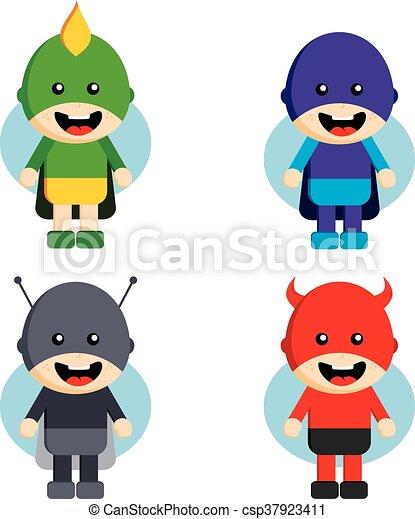 b776e198a Perfil, Apartamento, Estilo, Cheio, Superhero, Personagem, Rosto, Desenho,  Avatar, Modelo, Homem,