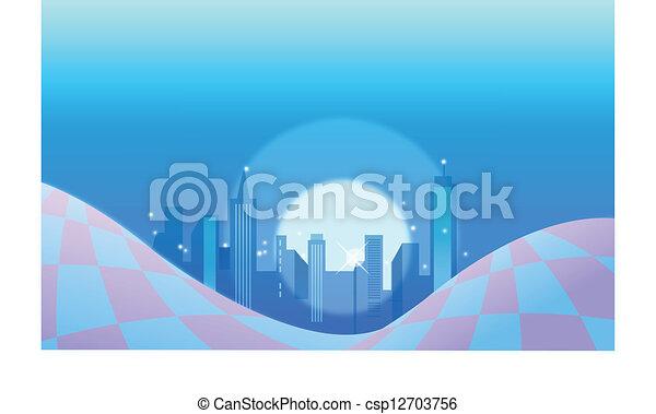 Antecedentes en la ciudad - csp12703756