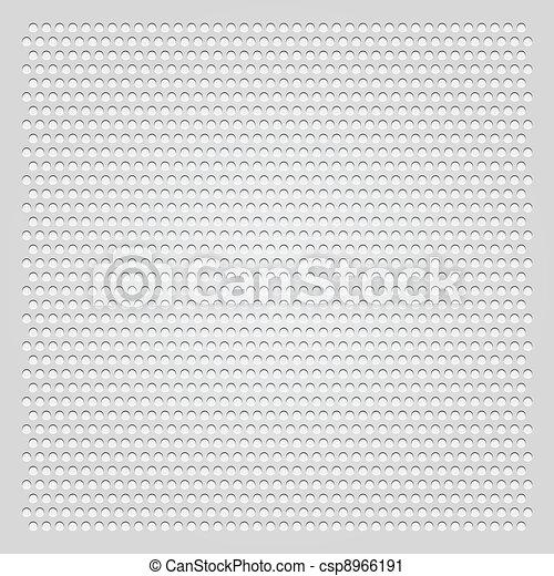 Perforato grigio foglio fondo clip art vettoriale for Foglio metallico
