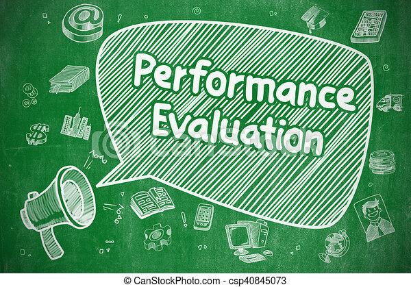 Performance Evaluation - Business Concept. - csp40845073