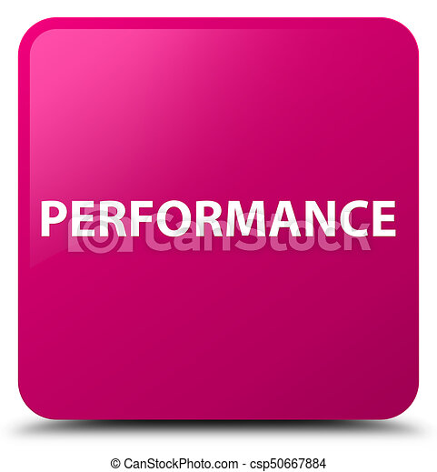 Performance pink square button - csp50667884